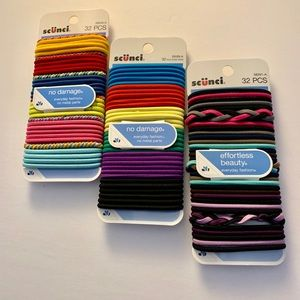 🎈Scunci Multi Color Hair Ties🎈